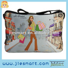 JSMART messenger bag colorful printing customized MOQ FREE giftware