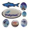 pretty animal epoxy sticker