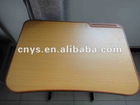comfortable desk board with plastic edge banding