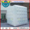 square inflatable helium balloon for advertising.