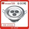 High Power Recessed 85-265V 3W LED Downlight HK-DL3P
