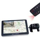 5 inch GPS navigation with Camera car black box recorder