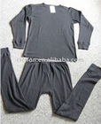sweat dry thermal underwear 56%cotton/44%polypropylene