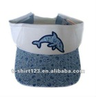 Sun visor cap/visor cap/sunhat with embroidery custom logo