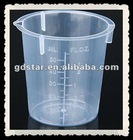 50 ML pp plastic measuring cup for medicine