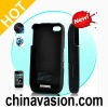 Protective Case with External Battery and Speaker Amplifier for iPhone 4, 4s