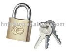 Brass Key Lock