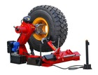 Semi-automatic truck tyre changer