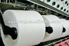 ring spun yarn pure cotton Ne30s/1 bleached white
