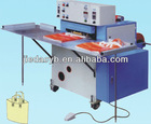 Soft portable -ring bag making machine