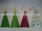 Glass ornament/Christmas ornament/hot-milt glass