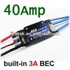 40A Brushless ESC Programable Speed Controller