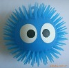flashing hedgehog bouncing ball