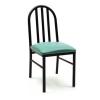 steel kitchen chair
