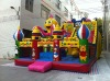 hot sale christmas inflatable bounce slide castle for children playing