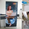Fabric pull up banner