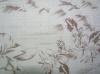 Jacquard cotton viscose fabric