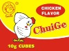 Chicken flavor soup cube
