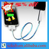 Visible current light Data USB Cable for iPhone/iPad/iPod