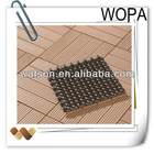 do it by yourself easy DIY wpc floor decking tiles