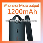 1200mAh MFI External Battery