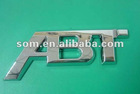 ABS car chrome logo