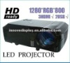 Home Theater Projector Native Resolution1280*800 2500lumens pefect for enjoy bigscreen