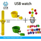 slap band USB watch
