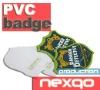 custom soft pvc safety badges