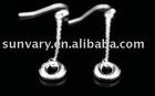 Hook Earrings Jewelry in Sterling Silver,Silver Jewelry, Silver Earrings (SYJE033)
