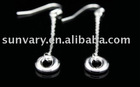 Hook Earrings Jewelry in Sterling Silver,Silver Jewelry, Silver Earrings (SYJE033)