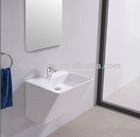 Wall-hung Italian classic stone basin with CE WD3826