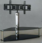Metal Glass Plasma TV stand