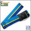 lock luggage belt strap, polyester luggage straps