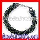 Crocheted bead bracelet free beaded pattern of seed beads wholesale