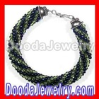 Crocheted bead bracelet free beaded pattern of seed beads wholesale