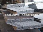Z section steel purlin