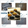 different shapes of muffin / cake pan / tray
