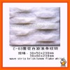 Snow flake white wave strip brick,marble mosaic MM13