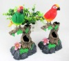 Heartful Bird Toy with Recording Function/ Fashionable Sound Controlling Parrots/Singing Parrots for Children