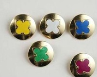 Fashionable design garment and jeans cute buttons