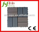 easy-stall durable wpc deck tile