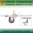 JY-405 4 inch PU caster wheels with brake