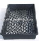 Pratical square plastic flower pot seeding tray