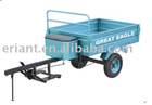 Hand farm trailer