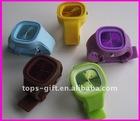 oem rubber jelly watch