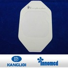 Hypoallergenic water-proof PU transparent film wound dressing / paper frame style / I.V Cannula dressing