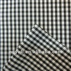 polyester yarn dyed fabric for clothing