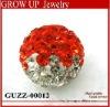Latest shiny loose shamballa beads wholesale