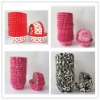 Wholesale Colorful Cupcake Liners Paper Muffin Baking Cups for Valentines Day